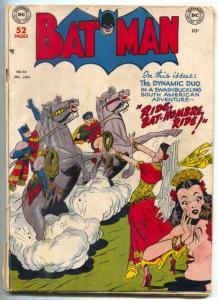 Batman #56 1949- Penguin appears- DC golden age VG-