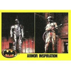 1989 Batman The Movie Series 2 Topps ARMOR INSPIRATION #217