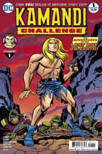Kamandi Challenge #1, NM + (Stock photo)