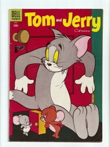 Tom and Jerry Comics #129 Golden Age Dell Comics 1955 FN
