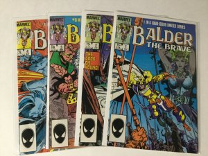 Balder The Brave 1-4 1 2 3 4 Lot Set Run Vf Very Fine 8.0 Marvel Comics