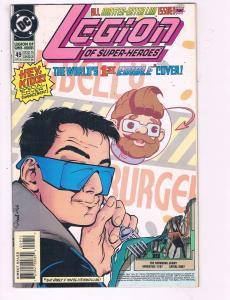 Legion Of Superheroes #49 VF DC Comic Book 1989 DE9