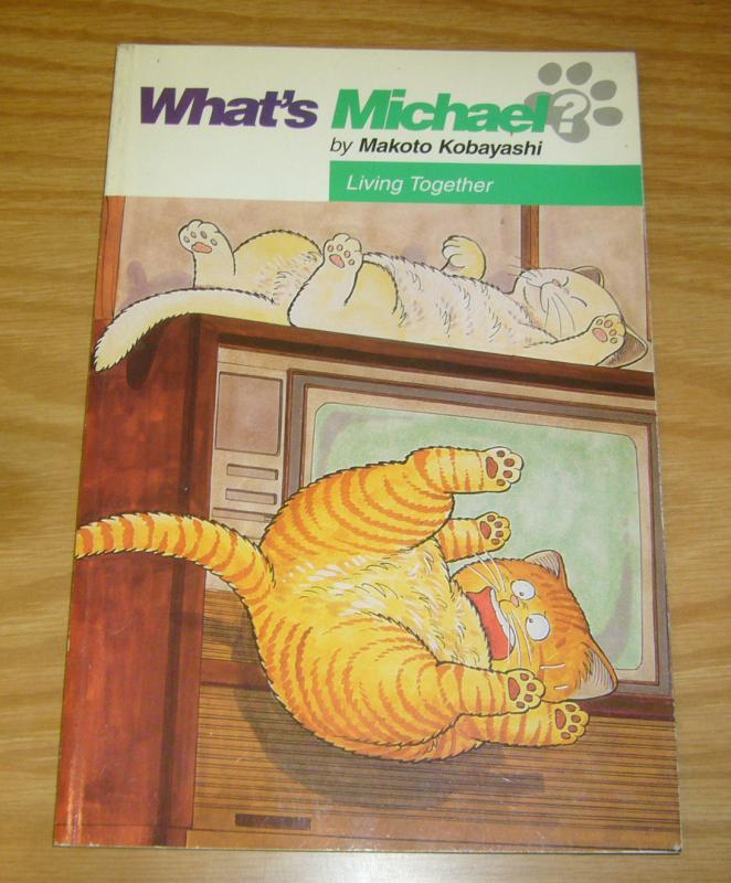 What's Michael? #2 VF living together - makoto kobayashi - dark horse manga 1st