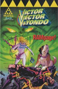 Victor Vector & Yondo #3 FN; Fractal   save on shipping - details inside