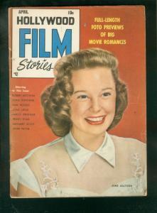 HOLLYWOOD FILM STARS #1-'50-JUNE ALLYSON-PEGGY CUMMINGS VG+