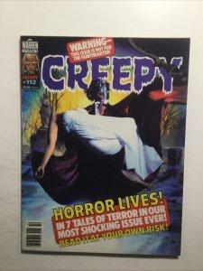 Creepy 112 Very Fine Vf 8.0 Oct 1979 Warren Magazine