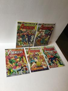 The Avengers 122 127 129 133 138 8.0 Vf Very Fine Or Better A21