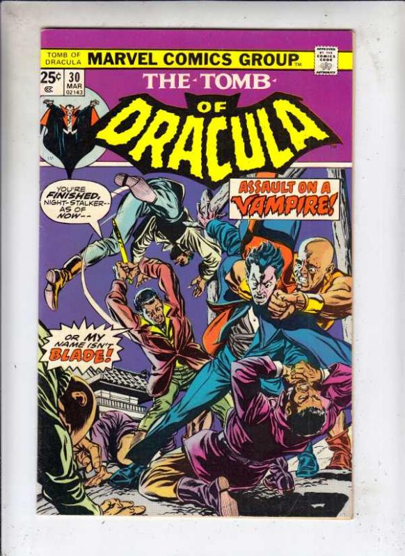 Tomb of Dracula #30 (Mar-75) VF High-Grade Dracula