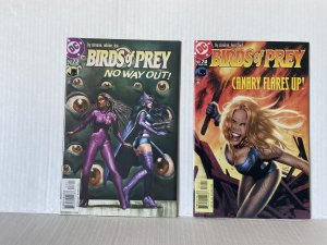 Birds of Prey #73 and 74 (2004) Unlimited Combined Shipping