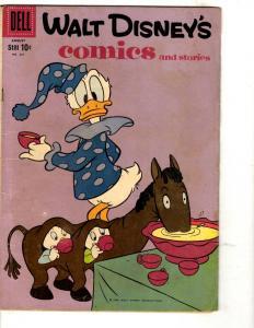 Walt Disney's Comics & Stories # 227 FN Dell Comic Book Donald Duck JL3