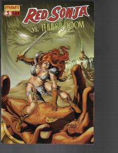 Red Sonja vs Thulsa Doom #3 (Dynamite, 2006) -   Will Conrad Cover