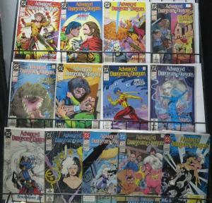 ADVANCED DUNGEONS & DRAGONS SAMPLER! (DC,1988) 13 books- F or Better