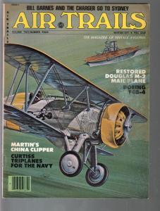 Air Trails-Winter 1977-pulp thrills-Bill Barnes hero pulp story-VG