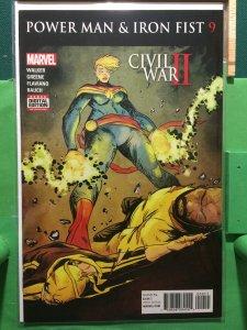 Power Man & Iron Fist #9 Civil War II