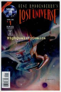 LOST UNIVERSE #1, Gene Roddenberry's, NM+, Bill Sienkiewicz , 1995, Sci-Fi