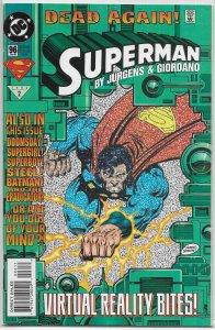 Superman   vol. 2   # 96 FN (Dead Again)
