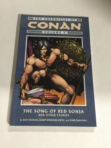 The Chronicles Of Conan Volume 4 Song Of Red Sonja Dark Horse SC TPB