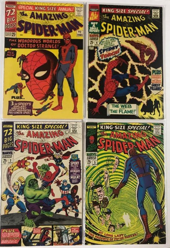 Amazing Spider-man Annual Lot 2 3 4 5 14 15 18-27 96-2001 35-42 Fine - Nm