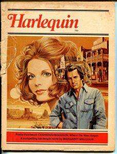 Harlequin 8/1978-romantic pulp fiction-based on paperback books-FR/G