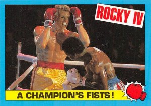 1985 Topps Rocky IV #20 A Champions Fists! > Ivan Drago > Apollo Creed