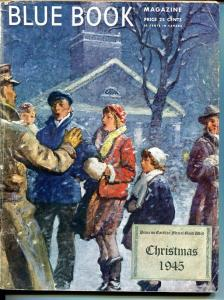 BLUE BOOK PULP-DECEMBER 1945-VG-CHRISTMAS-NELSON BOND-BONHAM-BEDFORD-JONES VG