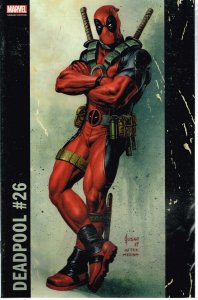 Deadpool #26 (2017) var. cvr.