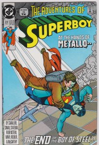The Adventures of Superboy 22 (VF-NM)
