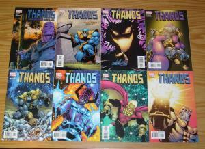 Thanos #1-12 VF/NM complete series - jim starlin - galactus - star-lord - marvel