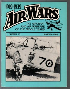Air Wars #13 3/1987-Aircraft & air warfare of the middle years 1919-1939-FN