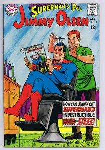 Superman's Pal Jimmy Olsen #110 ORIGINAL Vintage 1968 DC Comics