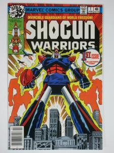 SHOGUN WARRIORS 1 VF-NM  Feb. 1979 COMICS BOOK