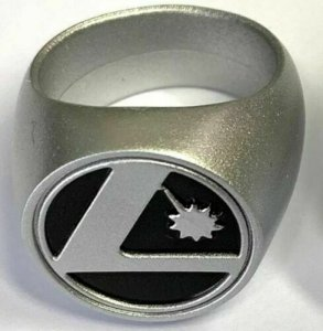 Legion Of Super-Heroes 1:100 Platinum Colored Ring 2019 DC + Gold FREE SHIPPING!
