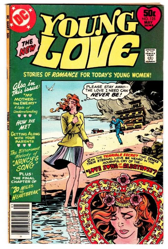 YOUNG LOVE #125 comic book-DC ROMANCE--COOL COVER-
