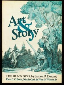 ART AND STORY 1976-#1-C.C. BECK-NICK CUTI-E-MAN-FANZINE FN