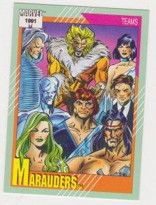 1991 Marvel Universe #158 Marauders