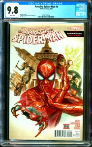 Amazing Spider-Man #9 CGC Graded 9.8