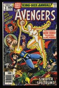 Avengers Annual #8 VG/FN 5.0 Thor Doctor Strange Ms. Marvel!