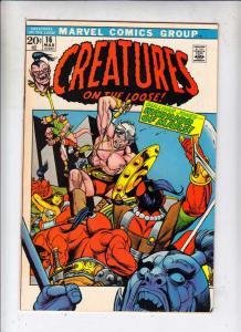 Creatures on the Loose #16 (Mar-72) NM/NM- High-Grade Gullivar Jones