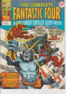 The Complete Fantastic Four #13 (Dec, 1977)