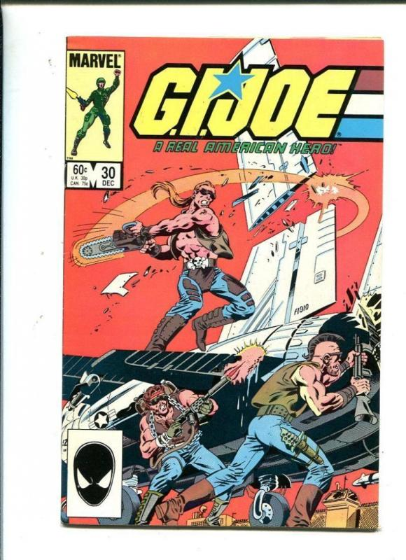 GI JOE #30, NM-, Marvel, Larry Hama, Frank Springer, 1982 1984, War