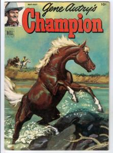 Gene Autry's Champion #6 (May-52) FN/VF+ High-Grade Gene Autry, Champion