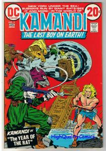 KAMANDI #2, VF, Jack Kirby, Year of the Rat, 1972, more JK in store
