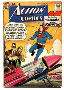 ACTION COMICS #246 comic book 1958-DC COMICS-SUPERMAN-KRYPTON DOOM