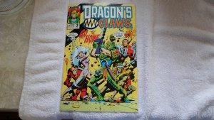 SEPT. 1988 MARVEL COMICS DRAGON,S CLAWS # 3