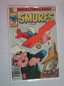 Smurfs #1 Newstand Edition 1982 FN 6.0