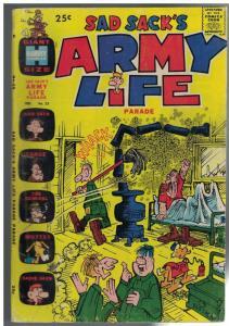 SAD SACKS ARMY LIFE (1963-1976) 23 G-VG Feb. 1969