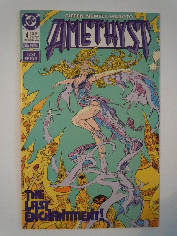 Amethyst (1987)- 4 Issue Mini-Series