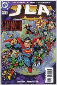 JLA    vol. 1   # 41 FN (World War III 6)