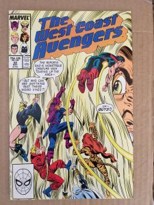 The West Coast Avengers #32