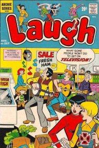 Laugh Comics #257, VG+ (Stock photo)